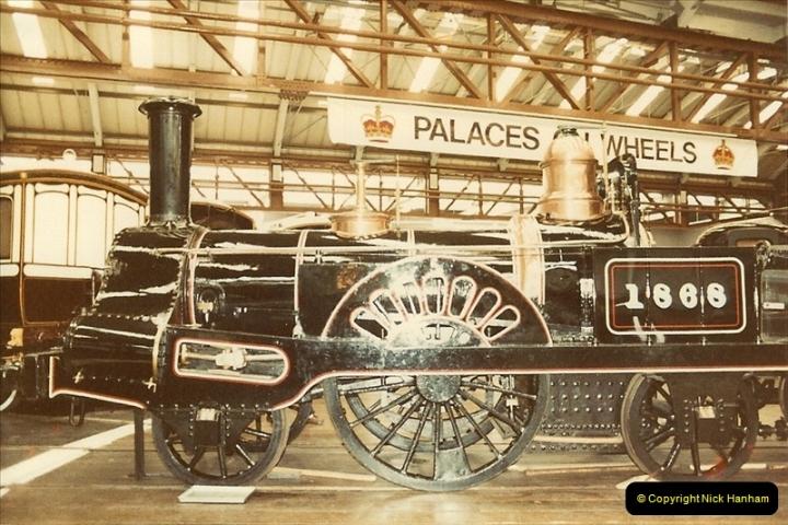 1982-09-05 National Railway Museum, York, Yorkshire.  (2)0419