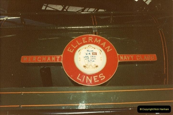 1982-09-05 National Railway Museum, York, Yorkshire.  (21)0438