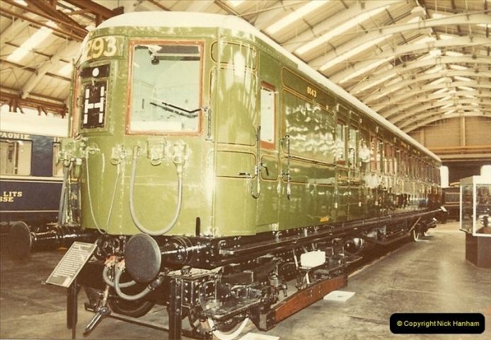 1982-09-05 National Railway Museum, York, Yorkshire.  (24)0441