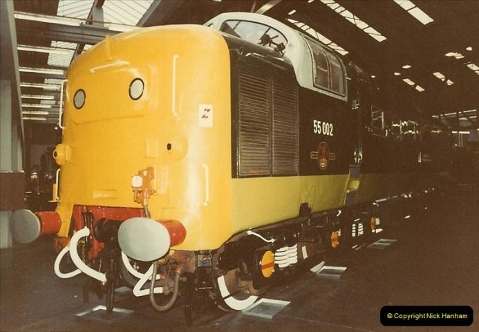 1982-09-05 National Railway Museum, York, Yorkshire.  (25)0442