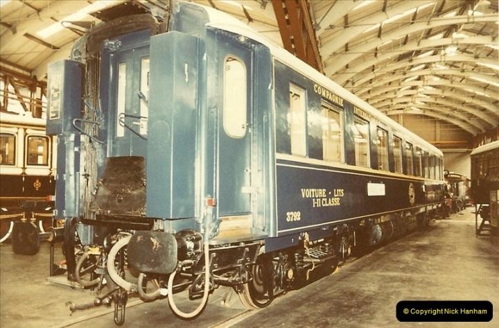 1982-09-05 National Railway Museum, York, Yorkshire.  (27)0444