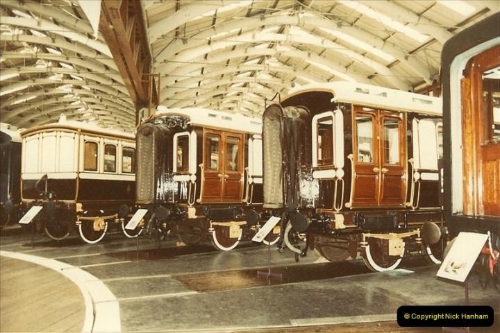 1982-09-05 National Railway Museum, York, Yorkshire.  (28)0445
