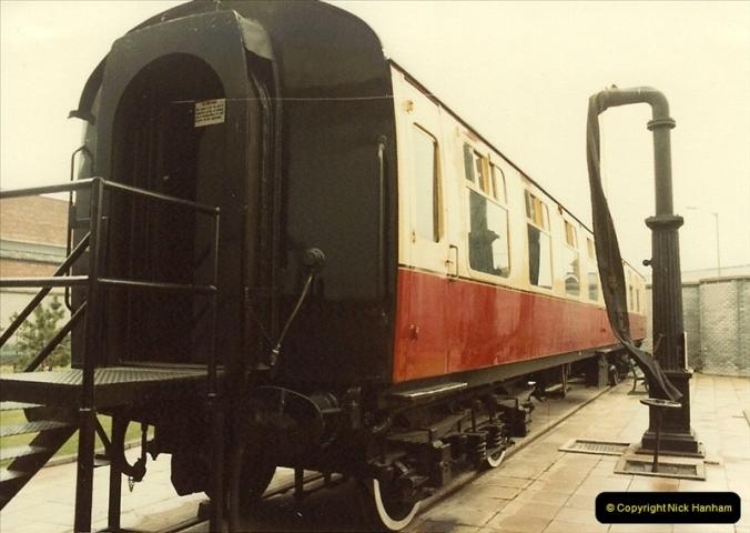 1982-09-05 National Railway Museum, York, Yorkshire.  (29)0446
