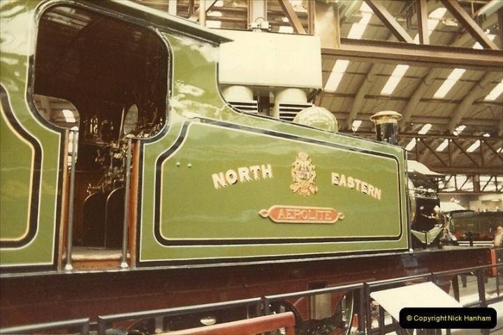 1982-09-05 National Railway Museum, York, Yorkshire.  (3)0420