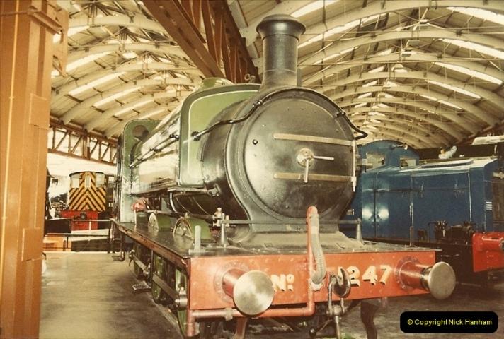1982-09-05 National Railway Museum, York, Yorkshire.  (4)0421
