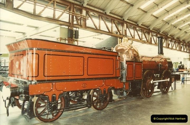 1982-09-05 National Railway Museum, York, Yorkshire.  (5)0422