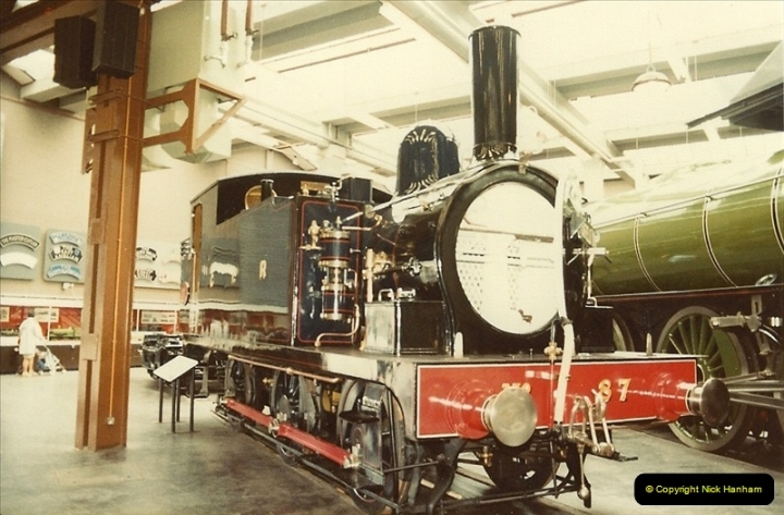 1982-09-05 National Railway Museum, York, Yorkshire.  (6)0423