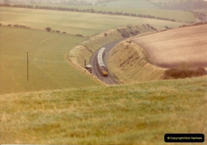 1982-10-16 Above Bincombe Tunnel, Weymouth, Dorset.0489