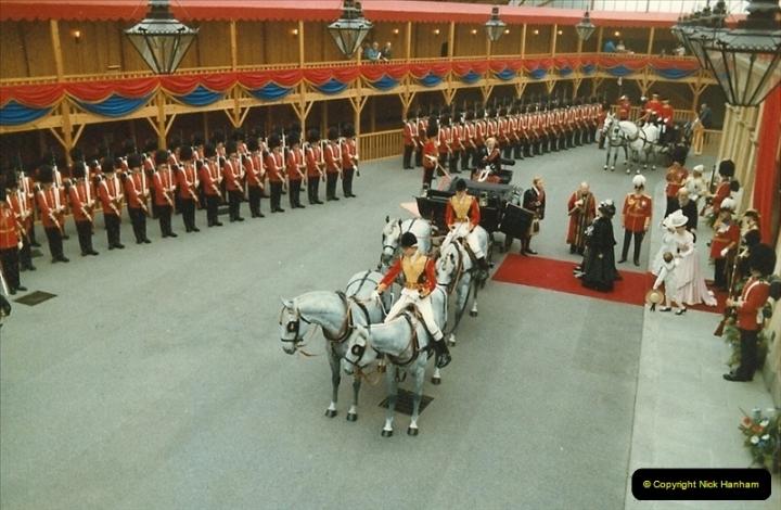 1983-09-01 Royality & Railways, Windsor Station, Windsor, Berkshire.  (15)0521
