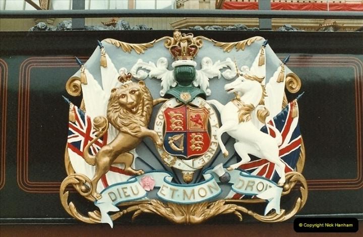 1983-09-01 Royality & Railways, Windsor Station, Windsor, Berkshire.  (5)0511