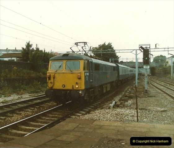 1983-09-01 to 02 Watford Junction, Watford, Hertfordshire.  (19)0540