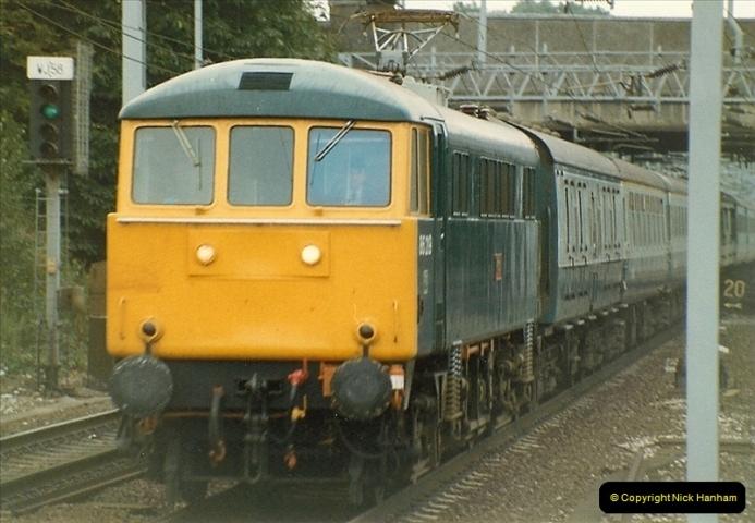 1983-09-01 to 02 Watford Junction, Watford, Hertfordshire.  (2)0523