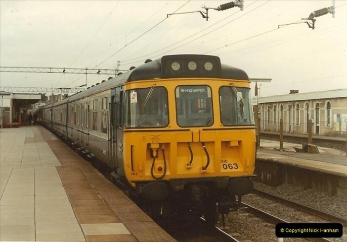 1983-09-01 to 02 Watford Junction, Watford, Hertfordshire.  (23)0544