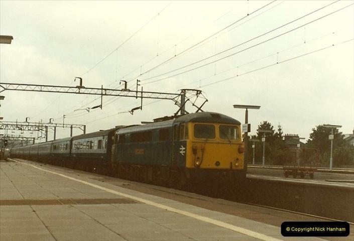 1983-09-01 to 02 Watford Junction, Watford, Hertfordshire.  (24)0545
