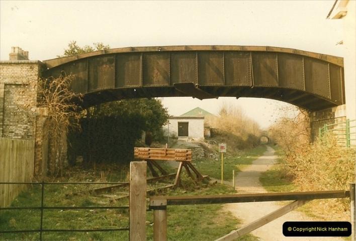 1984-02-19 Blandford Forum, Dorset. Old station site.  (1)0617