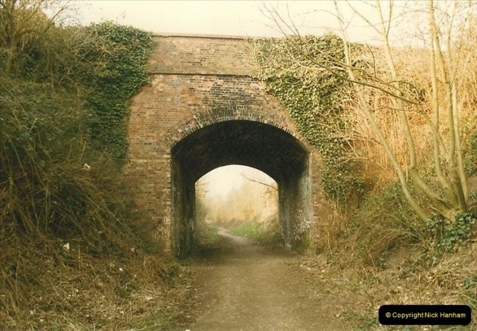 1984-02-19 Blandford Forum, Dorset. Old station site.  (2)0618