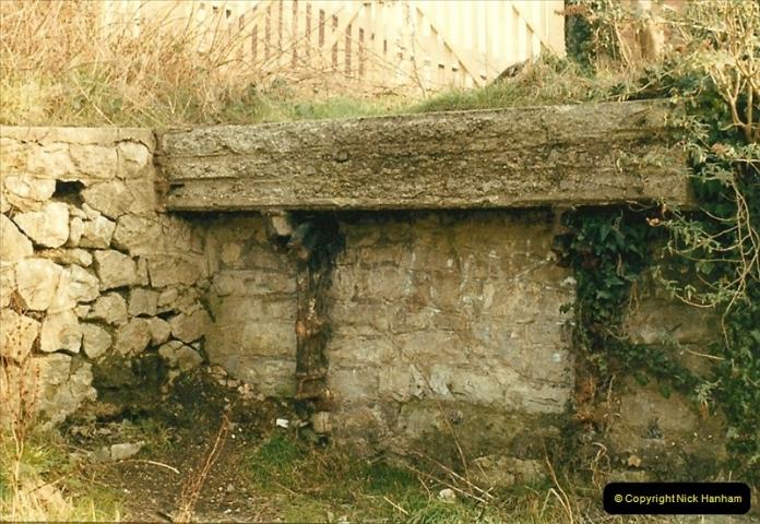 1984-02-19 Blandford Forum, Dorset. Old station site.  (3)0619