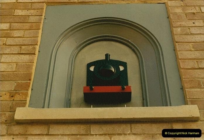 1984-02-19 Blandford Forum, Dorset. Old station site.  (5)0621