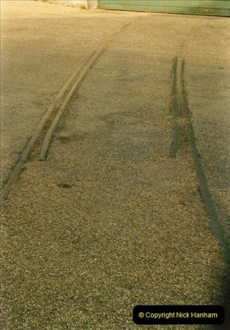 1984-02-19 Blandford Forum, Dorset. Old station site.  (6)0622