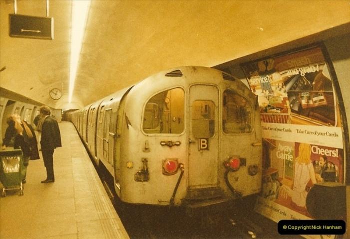 1984-03-17 Waterloo & City line & Waterloo station, London.  (1)0631
