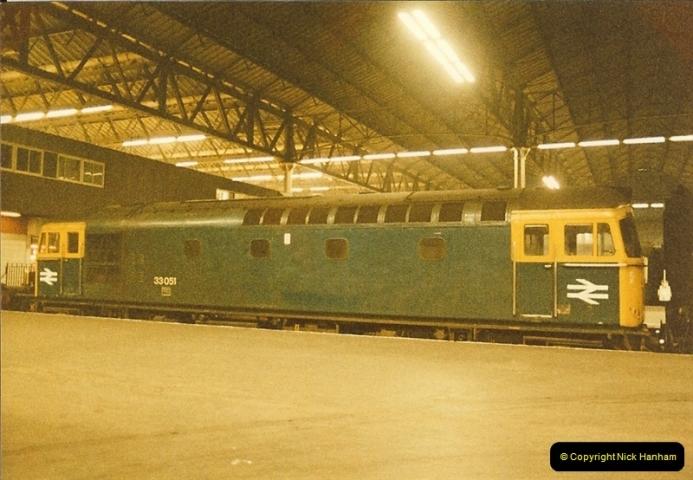 1984-03-17 Waterloo & City line & Waterloo station, London.  (5)0635