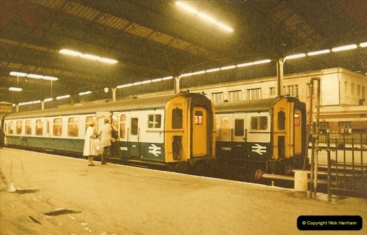 1984-03-17 Waterloo & City line & Waterloo station, London.  (6)0636
