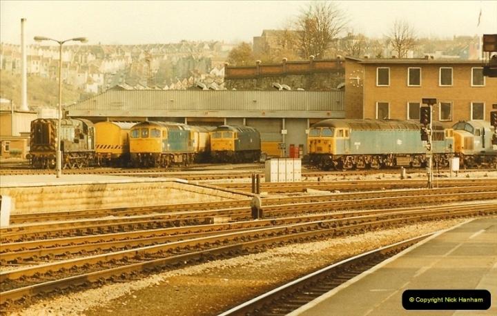 1984-03-30 to 31 Bristol & Bath, Somerset.  (3)0639