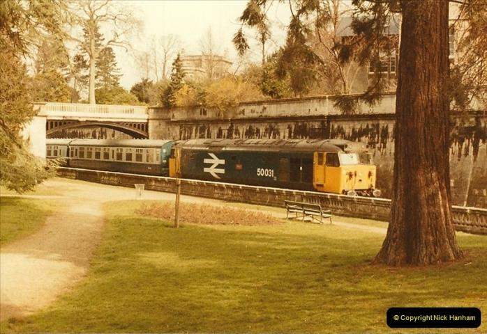 1984-03-30 to 31 Bristol & Bath, Somerset.  (31)0667