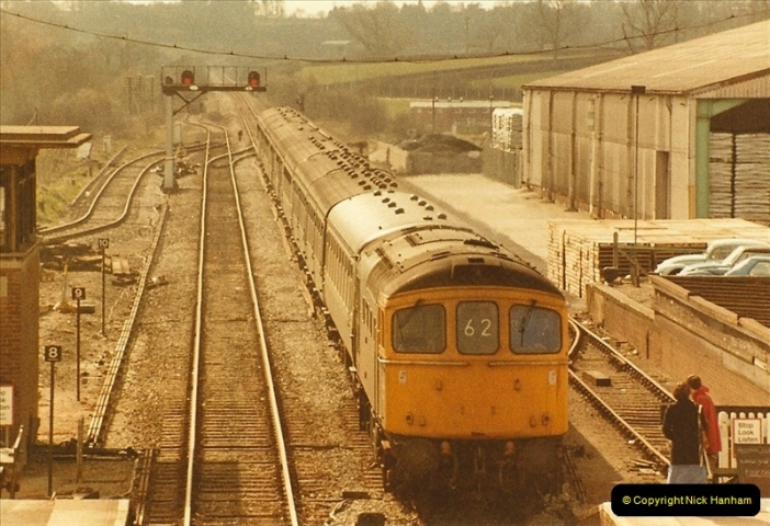 1984-04-01 Gillingham, Dorset.  (1)0668