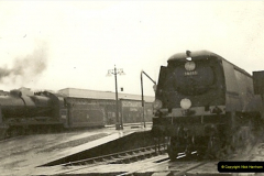 1955 to 1959 British Railways in Black & White.  (1)0001