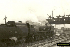 1955 to 1959 British Railways in Black & White.  (11)0011