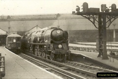 1955 to 1959 British Railways in Black & White.  (13)0013