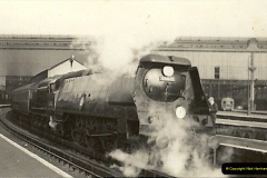 1955 to 1959 British Railways in Black & White.  (15)0015