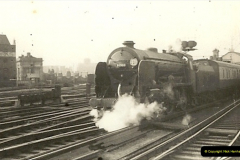 1955 to 1959 British Railways in Black & White.  (16)0016
