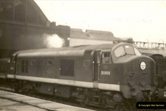 1955 to 1959 British Railways in Black & White.  (21)0021