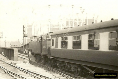 1955 to 1959 British Railways in Black & White.  (22)0022
