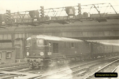 1955 to 1959 British Railways in Black & White.  (24)0024