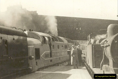 1955 to 1959 British Railways in Black & White.  (25)0025