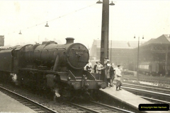 1955 to 1959 British Railways in Black & White.  (26)0026
