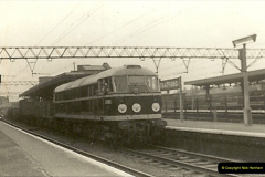 1955 to 1959 British Railways in Black & White.  (35)0035