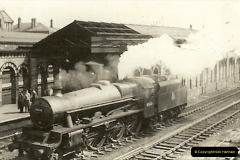 1955 to 1959 British Railways in Black & White.  (43)0043