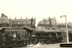 1955 to 1959 British Railways in Black & White.  (50)0050