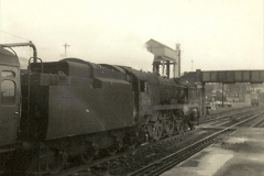 1955 to 1959 British Railways in Black & White.  (52)0052