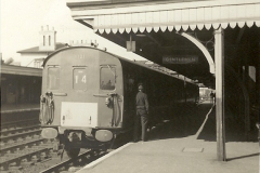 1955 to 1959 British Railways in Black & White.  (55)0055