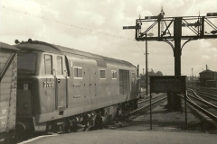 1955 to 1959 British Railways in Black & White.  (56)0056