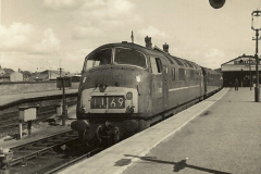 1955 to 1959 British Railways in Black & White.  (59)0059