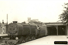 1955 to 1959 British Railways in Black & White.  (9)0009
