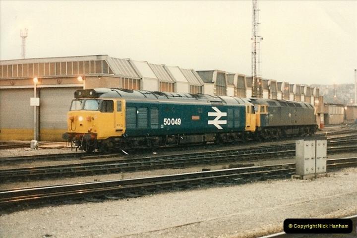 1986-02-01 Bristol Temple Meads.  (16)0016