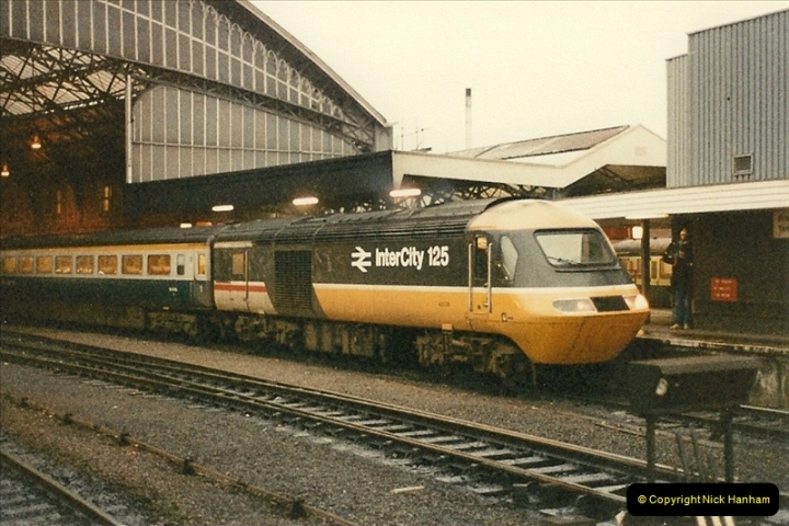 1986-02-01 Bristol Temple Meads.  (22)0022