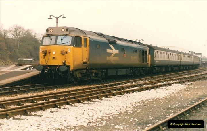 1986-02-02 Yeovil Junction.  (1)0036